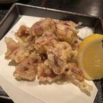 蕎麦・酒・小料理 壱 - ほたるいか天ぷら