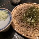 蕎麦・酒・小料理 壱 - もり(1人前)