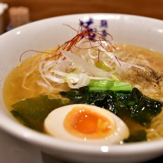茂司 - 料理写真:塩煮干し@850円:スープ無くなり次第終了