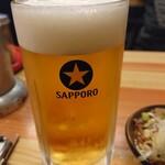 128560842 - 2020年2月 生ビール 中 630円