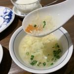 中国名菜 陳麻婆豆腐 - スープ優しい〜♪