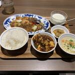 中国名菜 陳麻婆豆腐 - この日はミニ麻婆豆腐も付けました!