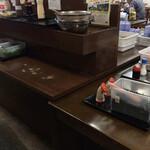 こがね製麺所 - 薬味コーナー