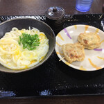 こがね製麺所 - 釜玉