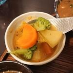 月と亀 - 旬の野菜カレー