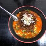 らーめん 麺の月 - 料理写真:担々麺(太麺)