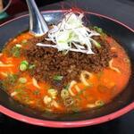 らーめん 麺の月 - 担々麺(太麺)