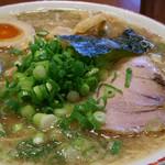 もんど - 新味 豚骨醤油麺(味玉つき)