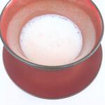 レストラン ペタル ドゥ サクラ - 新玉葱のスープ