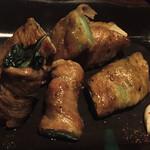 128575860 - 肉捲チンゲン菜