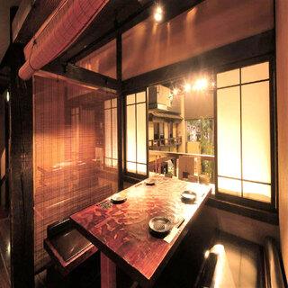"""【金山駅3分】落ち着いた和空間は""""個室""""も完備で寛げます"""