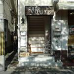 カフェユアーズ - お店の外観(実際は階段を上がった2階部分)
