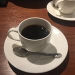オステリア ハミングバード - アフタードリンクのコーヒーです