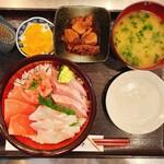 幸鮨 - 三色丼