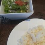 カジュアル キッチン テイク - サラダ&ライス