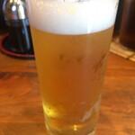 やまどん - グラスビール
