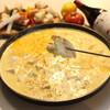 Hallo - 料理写真:焼きチーズフォンデュ
