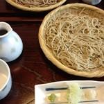 笊蕎麦 刻 - ざる中盛byエネル