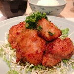 割烹 大田川 - 鶏の唐揚げ
