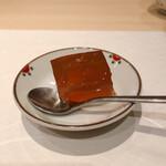 割烹 大田川 - デザート 紅茶ゼリー