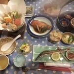 民宿 花の木 - 料理写真:夕飯