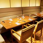 レストラン HUSHHUSH - 半個室