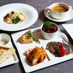 レストラン HUSHHUSH - 茶話会ランチ