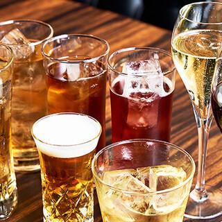 世界各国のボトルワインを3,000円と、お手頃にご用意◎