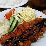 ステーキハウスポパイ - 料理写真:ステーキハウス ポパイ とんかつ(600円)