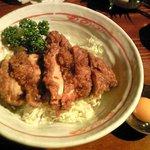 つけめん KONPEI  - 鶏タレカツ丼