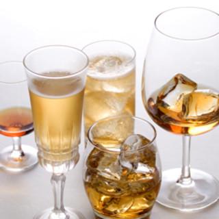 ≪ ブレンデットコース ≫ 2,000円 ~ウイスキー飲み放題コース