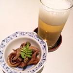 宮川本廛 - きも煮とビール