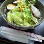 ドジャース前食堂 - 野菜ラーメン \580