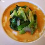 中国料理 柳城 - ◆前菜◆ 白菜と小松菜♪