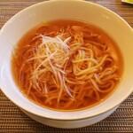中国料理 柳城 - ◆葱スープそば◆♪
