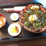 カフェレスト サクラヰ - 料理写真:黒毛和牛のローストビーフひしお丼