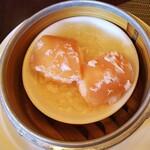中国料理 柳城 - ◆あわび茸海老饅頭◆♪