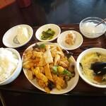 中国料理 海華 - 料理写真:ランチメニュー八宝菜