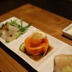 小田原おでん本店 - お魚3種