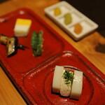 小田原おでん本店 - 前菜3品