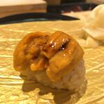 寿司 いぶき - 北海道のバフンウニ