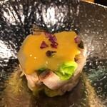 寿司 いぶき - 鰆と春キャベツ