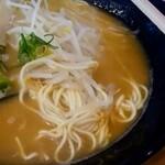 広島らーめん 平の家 - 麺アップ