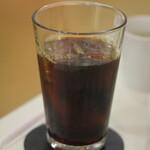 アールカフェ - アイスコーヒー