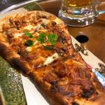とろさば料理専門店 SABAR - キーマチーズ38ナンピザ