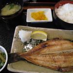 酔心酒蔵 - 焼き魚定食。