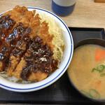 かつや - 平日限定 ランチ 味噌カツ丼 550円