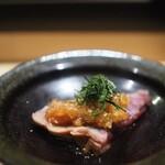五反田鮨 SUSHI TOKYO 81 - 桜チップで燻した鰹