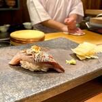 五反田鮨 SUSHI TOKYO 81 - 春鰯 ネギと一味