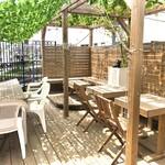 桜キッチンカフェ - 屋上テラス